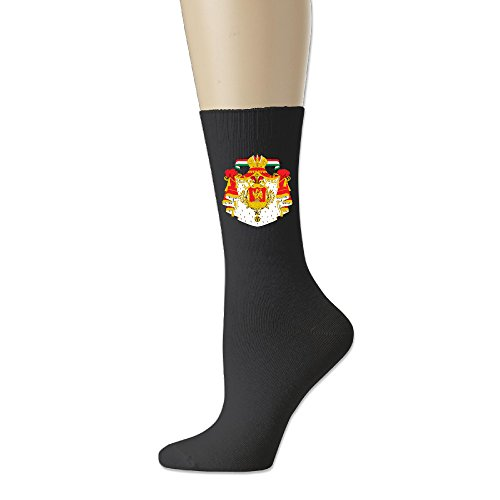 (Coat Of Arms Of Mexico 1821 To 1823 Geek Cotton Socks Blend Crew Sock)
