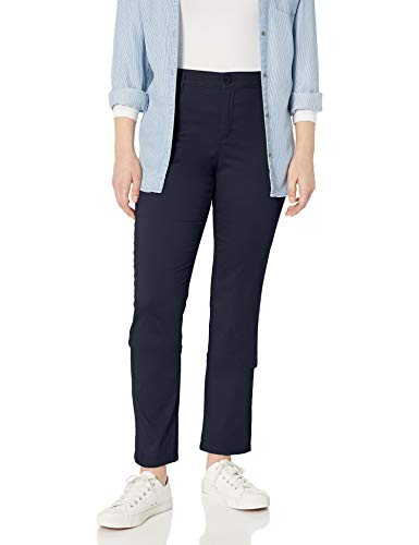 Gloria Vanderbilt Women's Anita Straight Leg Pant, Midnight Affair, 16