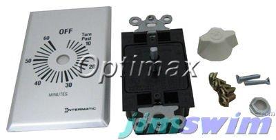 Spring 60 Min (Intermatic FF460M Timer DPST Silver Spring Wound, 60 min)