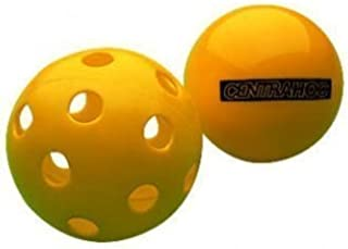 New Centrahoc Balle D'entraînement & Entraînement Gonflable / Perforé Balle De Hockey Jaune One Size