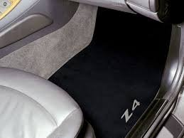 (BMW Carpet Floor Mats Z4 Coupe & Roadster (2002-2008)- Black)