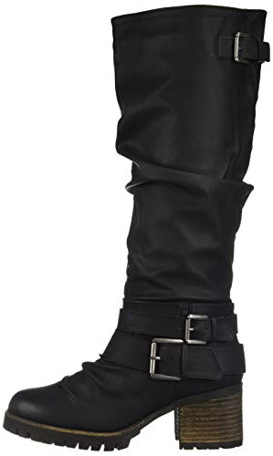 Black Santana Gwyneth Boot Carlos Carlos Fashion Women's by q0aUUz