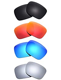 Set of 4 Polarized Replacement Lenses for Oakley Holbrook Sunglasses NicelyFit