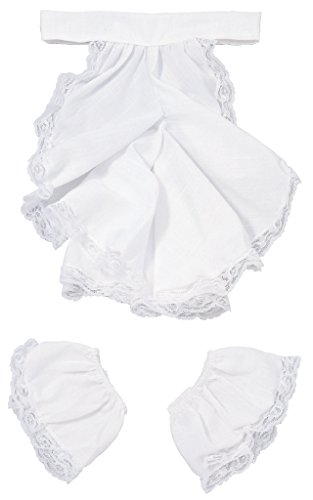 Rubie's Costume Co Men's Pirate Steampunk Colonial Jabot and Cuffs Costume Accessory, White, One (Rental Costumes)