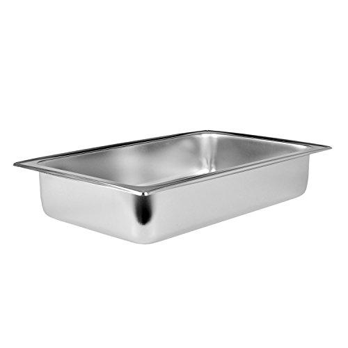 TigerChef TC-20249 Full Size Dripless Water Pan, 8 Quart