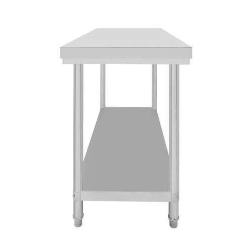 Table de travail professionnelle en inox sans rebord Equipementpro 100 * 60 * 85cm