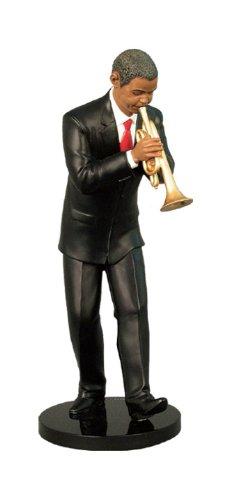 Ebony Vibrations: Trumpeter