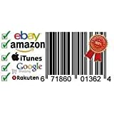 Barcodes EAN 13 UPC barcode bar code Numbers for Amazon/Ebay