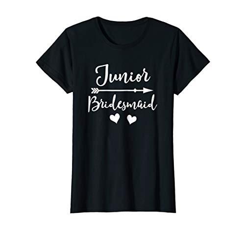Junior Bridesmaid Wedding T Shirt Bridal Party Gift