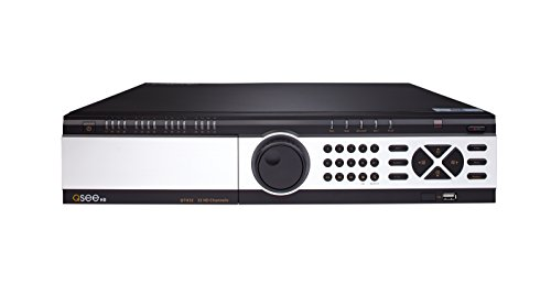 32 Channel Dvr (Q-See QTH32-4 32-channel 1080p HD Analog DVR with 4TB Hard Drive, Standalone Surveillance System (Black))