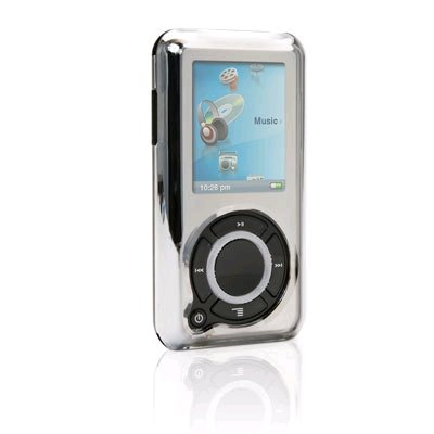 Griffin Reflect Case for Sansa e200 Series MP3 Players (Chrome Mirrored)