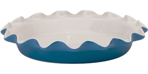 Rose Levy Beranbaum's Perfect Pie Plate, 9-Inch, Ceramic, Blueberry