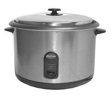 Globe Food Equipment S/S Chefmate Countertop 25-Cup Rice Cooker