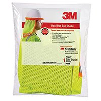 3MProducts Hard Hat Hi-Viz Yellow W/Shade, Sold as 1 Each