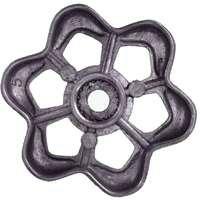 (Round Broach Outdoor Wheel Faucet Handle )