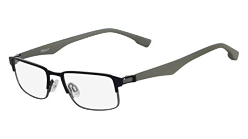 Eyeglasses FLEXON E1062 424 DARK BLUE CHROME