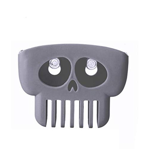 VT BigHome Kitchen Sponge Drain Holder Wheat Fiber Sponge Storage Rack Or Wash Cloth Basket Toilet Soap Shelf Organizer Skull Shape