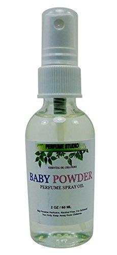 Demeter Baby Powder - Perfume Studio Baby Powder Perfume Spray for Women 2.0/60 ML - Pure Perfume Oil, No Alcohol