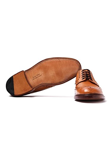 Loister Heren Chester Oxford Shoes Tan