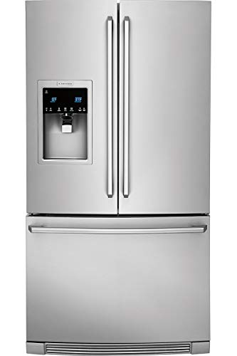 """Electrolux EI23BC37SS 36"""" Energy Star Certified Counter-Depth French Door Refrigerator with 21.64 cu. ft. Capacity External Dispenser IQ-Touch Controls Ice Maker and PureAdvantage F"""