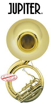 Jupiter University Quad 4 Valve Brass BBb Sousaphone 590L by Jupiter