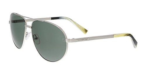 Ermenegildo Zegna EZ0030/S 15N Silver Aviator Sunglasses for - Zegna Couture
