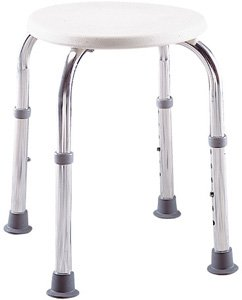 Lumex 2060R Round Bath Shower Stool Seat Chair Narrow  sc 1 st  Amazon.com & Amazon.com: Lumex 2060R Round Bath Shower Stool Seat Chair Narrow ... islam-shia.org