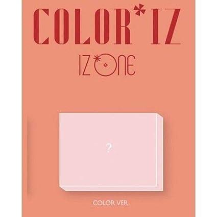 Amazon com: IZONE - [ColorIz] 1st Mini Album Color VER CD+Poster+