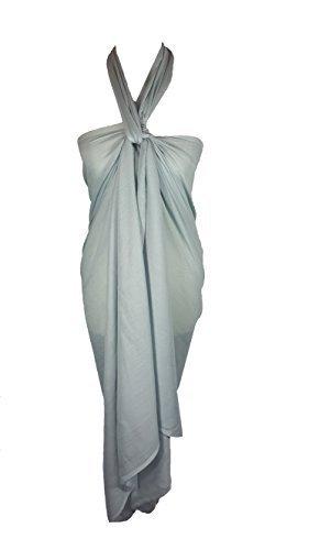 copriletto cm 110 Sarong x Uni cm Argent sciarpa Grande misura Clair 200 AxqzUw5Oq