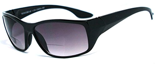 HD High Definition Bifocal Sun Reader Sunglasses for Men and Women. Various Colors and Power Strengths + Free Microfiber Pouch (+2.25, - Power Sunglasses Men For With