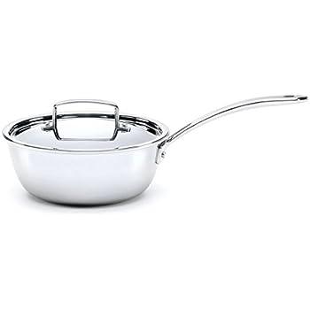 Amazon Com 3 Qt Saucier With Lid Kitchen Amp Dining