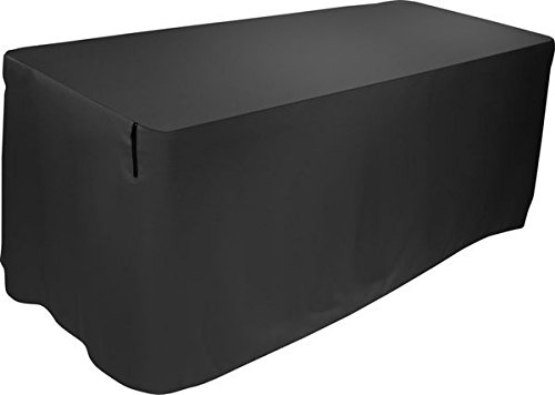 (Ultimate Support Ultimate 4-Foot Table Cover, Black (USDJ4TCB))
