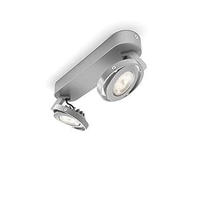 aluminium lackiert 564204816 Philips Ledino LED-Wandspot Teqno 1-flammig dimmbar 6 W