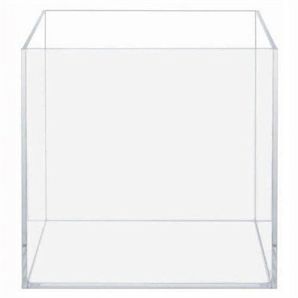 HIGH CLARITY GLASS CUBE 7.13 GALLONS by AquaTop