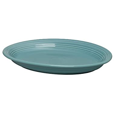 Fiesta 13-5/8-Inch Oval Platter, Turquoise