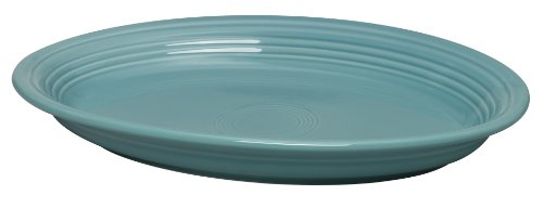 turquoise oval platter