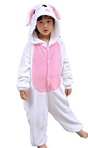 Cute Childrens Costumes (yolsun Animal Onesie Pajamas, Kids Cute Animal Costume for Winter (7-8y(Suggest 51