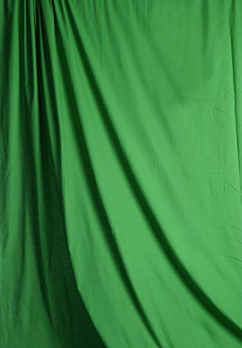 (Savage Solid Muslin Background - Green, 10' W x 12' H)
