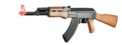 CYMA CM022 AK47 AIRSOFT ELECTRIC RIFLE AEG SEMI/FULL AUTO - 430 ROUND HI-CAP MAG
