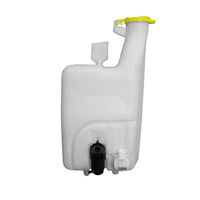 New Windshield Washer Tank For 2002-2004 Dodge Full Size Pickup, New Style, With Pump, Includes Fluid Level Sensor, For Models With Gas Engines CH1288180 -  Fitrite Autoparts, 55077354AA-PFM