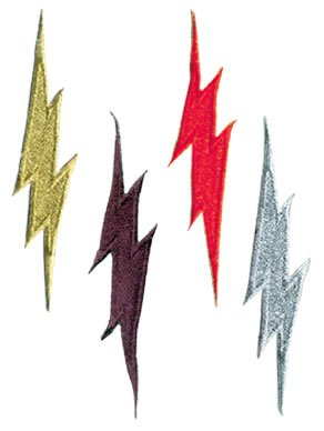 - Tiger Claw Patch - Lightning Red