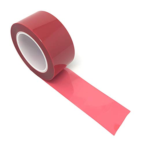 (APT, (2'' X 72 Yds, Red), 2 Mil Polyester Tape with Silicone Adhesive, high Temperature Tape, 3.5 mil Thickness, Powder Coating, E-Coating, Anodizing, high Temp Masking.(2inch) (2 inch))