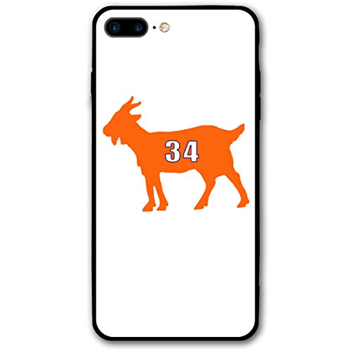 Slim Fit iPhone 7/8 Plus Case, Chicago Payton Goat Shock-Absorption Anti-Scratch Bumper Silicone Cover Dustproof Full Body Drop Protection Cover for Apple iPhone 7/8 Plus