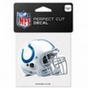 Indy Colts Nfl (NFL Indianapolis Colts 95389010 Perfect Cut Color Decal, 4