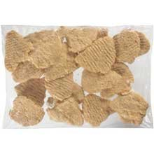 Tyson Red Label Premium Homestyle Uncooked Breaded Chicken Breast Filet, 4 Ounce - 2 per case.