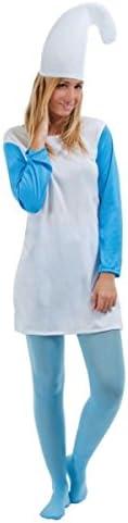 Ptit Clown RE46051 Disfraz de pitufo para adulto, para mujer ...