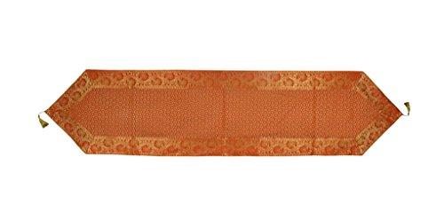 Lalhaveli Elegant Decorative Designer Silk Table Runner 72 x 16 Inch (Designer Runner Table)