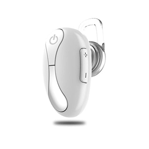 GBSELL K17 Wireless Bluetooth Headset In-Ear Mini Sport Earbuds Headset Stereo Earphone with Microphone Hands-free Calling (White)