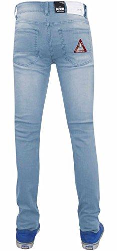 Strappato Jeans G Elasticizzato Wash Uomo 72 Taglia Da S Light Skinny In Cotone Modello YRwYZq