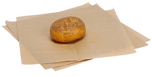 """100 Sheets / 12 X12"""" Natural Kraft Food Paper"""